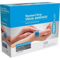 Bandaids Blue